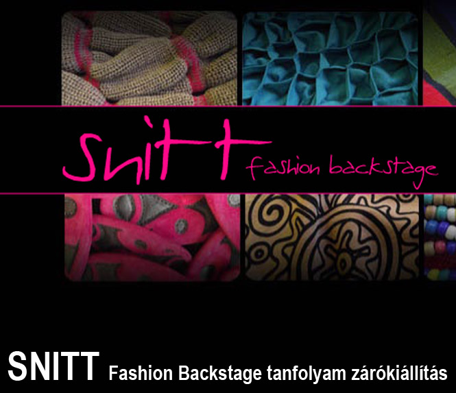 Snitt fashion Backstage
