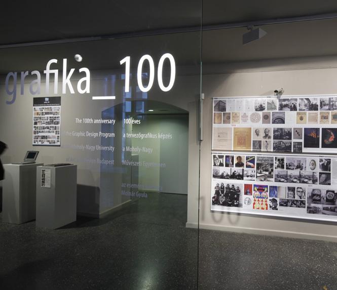 Grafika100 - 100 éves a MOME Grafika szak 2010